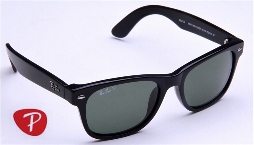 New wayfarer ,rb2132 901/58 polarized G15 lens,55mm