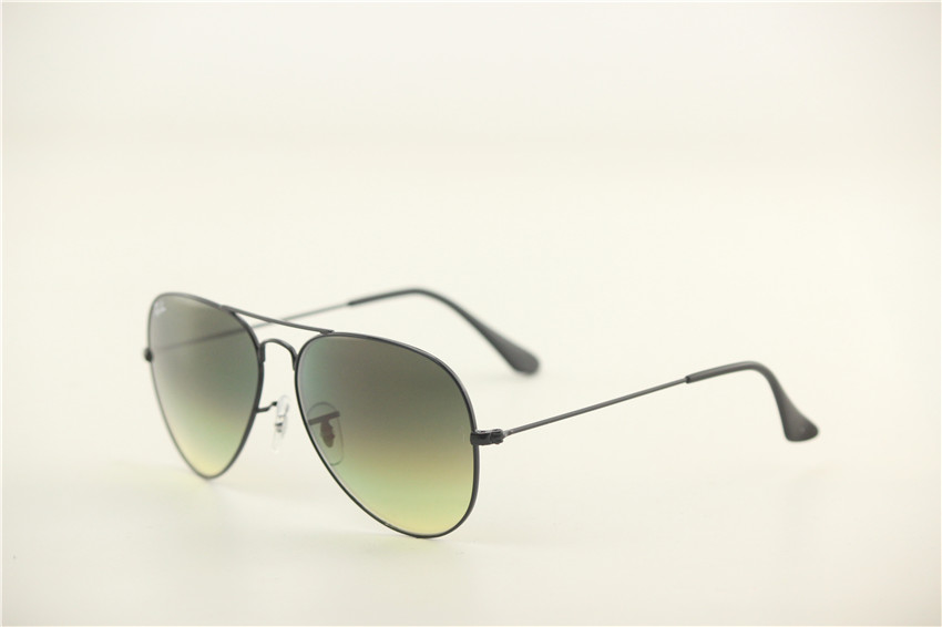 Aviator , rb 3025 002/2F ,retro unisex sunglasses .55 58 62mm